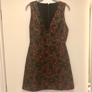 Alice + Olivia Size 8 Fit And Flare Dress